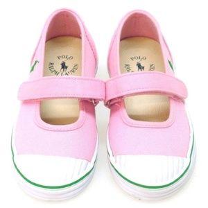 Polo Ralph Lauren Girl's Sendena Mary Janes Pink